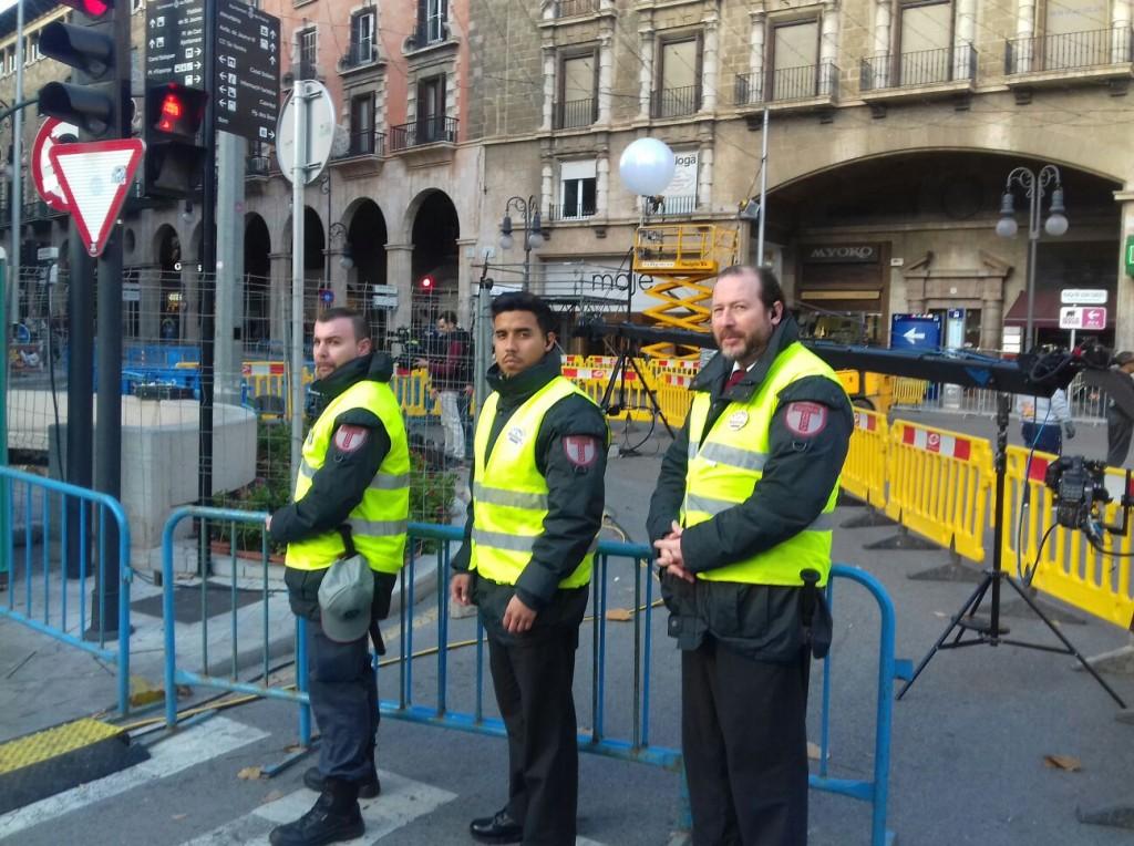 Personal de Seguridad de TASP