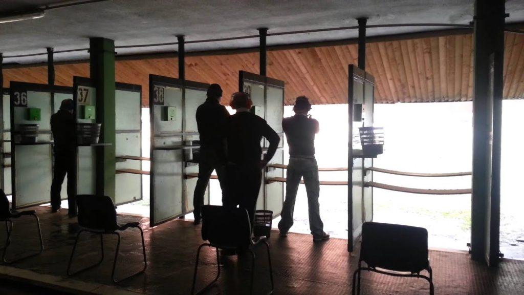 Ejercicios de tiro para vigilantes de seguridad