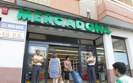 vigilantes de seguridad en supermercados